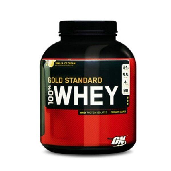 สุดยอดOPTIMUM Whey Protein Gold 5 Lbs. - Vanilla ice cream ที่คุณต้องซื้อ