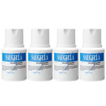 Saugella Dermoliquido pH 3.5 ซอลเจลล่า เดอร์โมลิควิด 100ml (4ขวด)