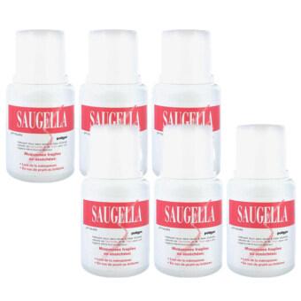Saugella Poligyn Neutral pH ซอลเจลล่า โพลิจิน สูตร นิวทรอลพีเอช 100ml (6ขวด)