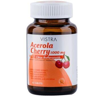 Vistra Acerola Cherry 1,000 mg (100เม็ด)