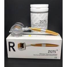 Zgts Titanium Derma Roller Sizes 1.0 Mm เข็มกลิ้งรักษาหลุมสิว และ เพิ่มเรียบเนียน เดอมาโรลเลอร์ ราคา 630 บาท(-58%)