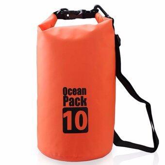 กระเป๋ากันน้ำ ถุงทะเล ถุงกันน้ำ ความจุ 10 ลิต