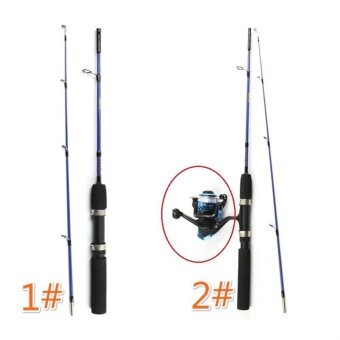 1.2M Fishing Pole Portable Fiber Reinforce Plastic Lure RodTelescopic Fishing Pole (without fishing reel) - intl