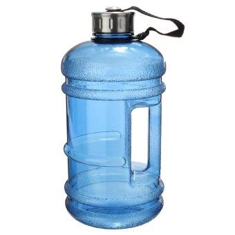 2 PCS 2.2 Liter (Half Gallon) 64oz BPA-Free Large Training Gym Water Bottle Handle - intl