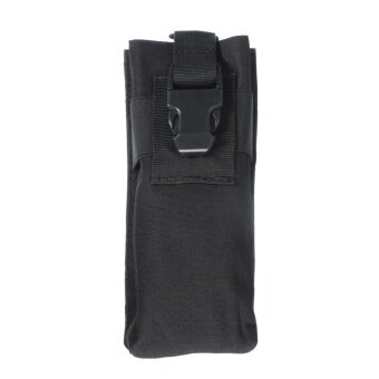 2 PCS Outdoor Airsoft Tactical Military Molle Radio Walkie Talkie Pouch Bottle Bag New Color Black