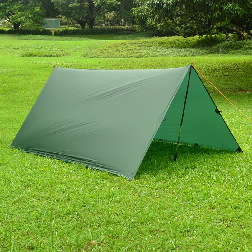 3f ul gear ultralight tarp outdoor camping tent awning 15D Nylon Silicon coating canopy .