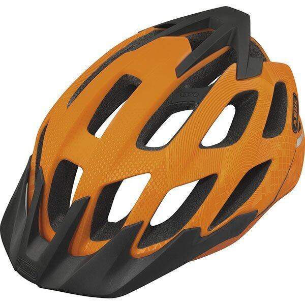 Abus Helmet Hill Bill Size L - Signal Orange (551314) ...
