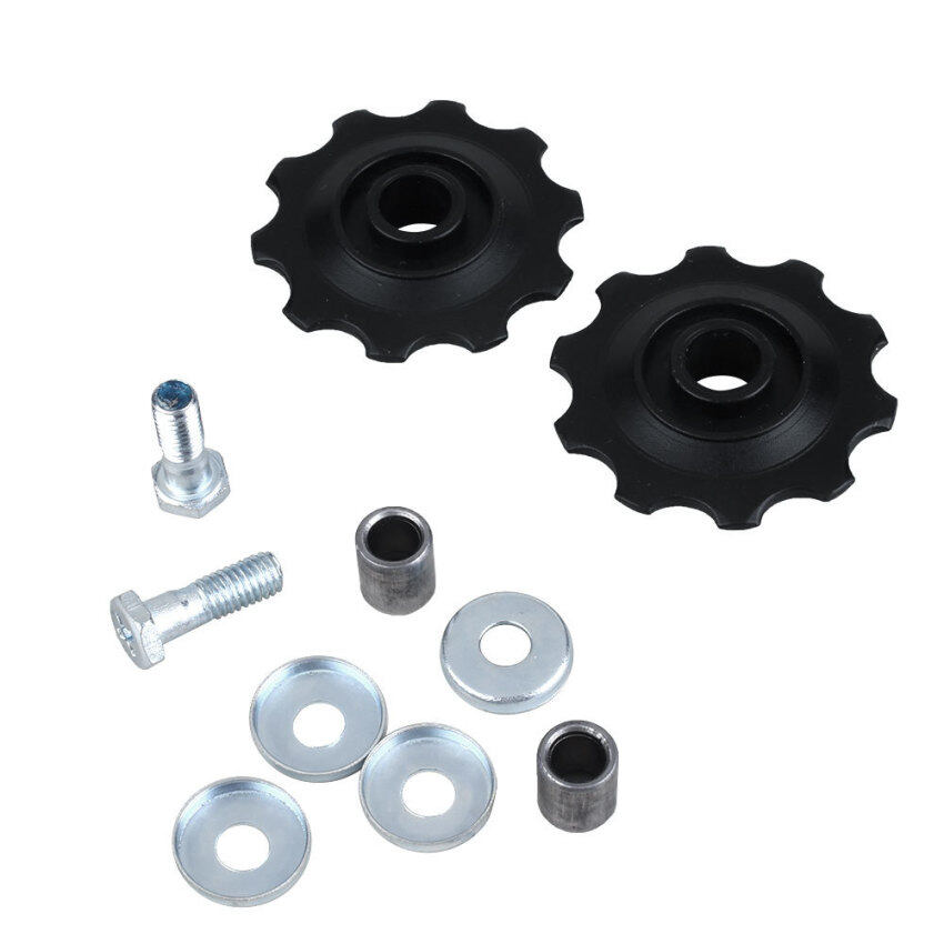 Bike Bicycles Cycling Rear Derailleur 10T Guide Roller Wheel Part Accessory ...