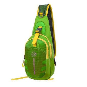 กระเป๋าสะพายไหล่กันน้ำ กระเป๋าคาดอก รุ่น D02 (สีเขียว)