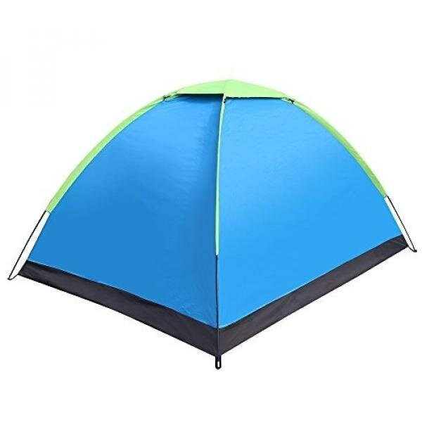 EverKing 2 Person Portable Outdoor Folding Tent Waterproof Fiberglass For Outdoor Camping Hiking Folding Tent Double-Person Camping Hiking Tent with Carrying Bag (light blue) - intl