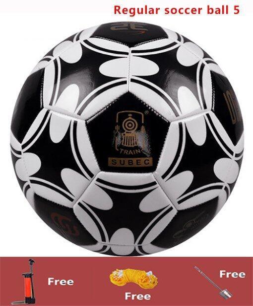 Football Soccer Regular soccer ball 5 Outdoor soccer Indoor soccer Outdoor Football Indo ...