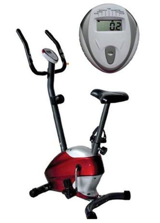 อุปกรณ์ออกกำลังกายG Sport Magnetic Bike จักรยานบริหาร ระบบแม่เหล็ก รุ่น GS-5610สีแดง
