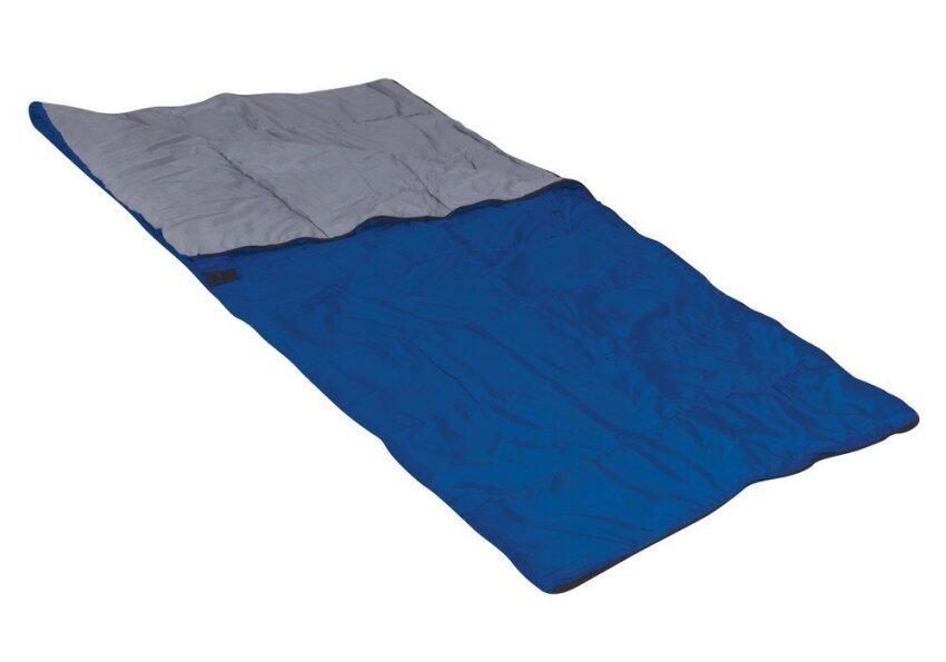 GRAND ADVENTURE ถุงนอนทรงสี่เหลี่ยมผืนผ้าหนา 150 กรัม - Blue