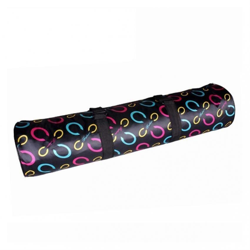High Grade Yoga Mat Bag Suitable Size 4mm (Black Type C) - intl .
