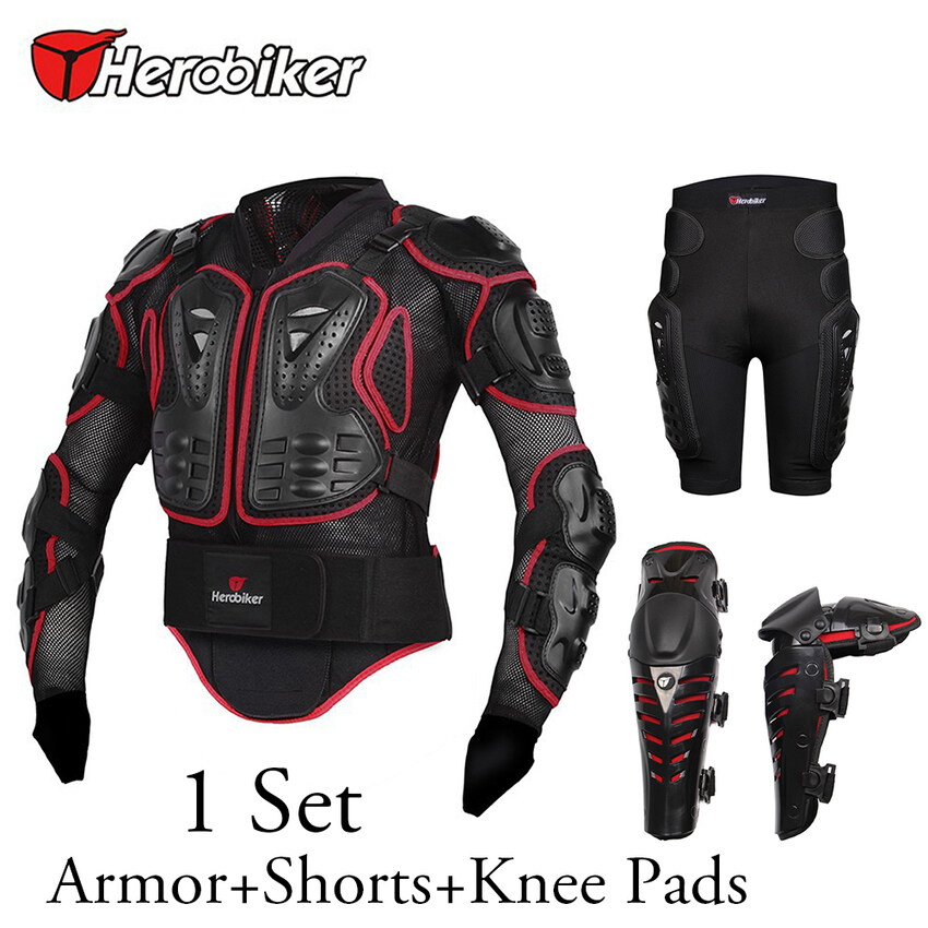 High Quality Motorcycle Body Protection Racing Full Body Armorspine Chest Protective Jacket Gear M-Xxxl - intl ...
