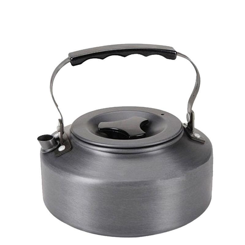 Hign Quality Hard Anodized Aluminum Kettle Outdoor Camping Hiking Portable Coffee Pot Teapot 1.1L Creative - intl