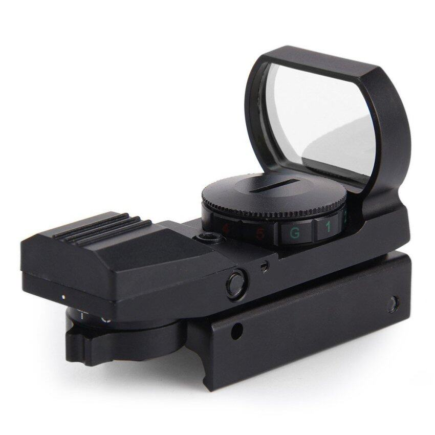 Hunting Holographic Reflex Red Green Dot Sight Scope 20mm 1 x 22 x 33