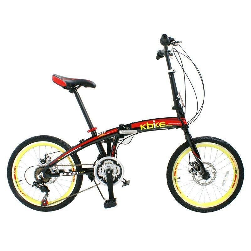 แนะนำ K-BIKE จักรยานพับได้ ALLOY FOLDING BIKE 20