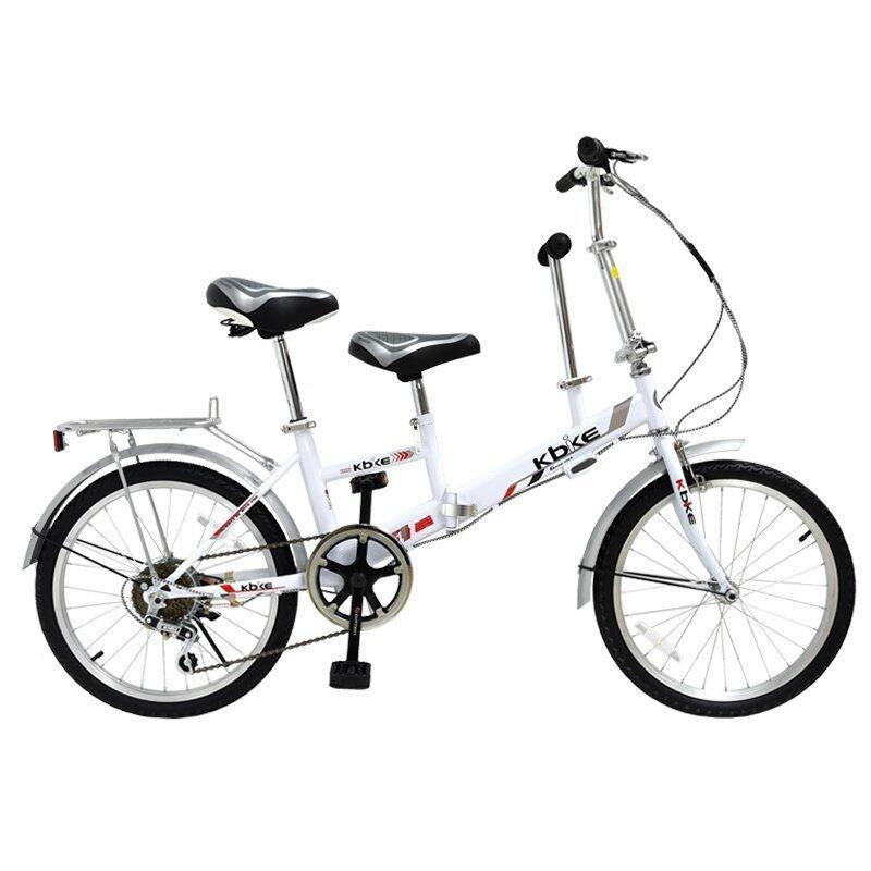 aaa K-BIKE จักรยานพับได้ FOLDING BIKE 2 อาน 20 นิ้ว 6 สปีด รุ่น 20K621(สีขาว) Sbobet