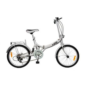 K-POP จักรยานพับ 20นิ้ว 3 Speed KP-2003YST-SV (สีเงิน)