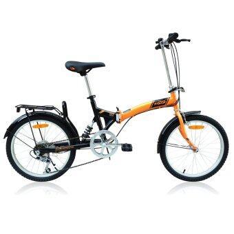 K-POP จักรยานพับ 20 นิ้ว รุ่น KP-2006TSP3-OR (สีส้ม)