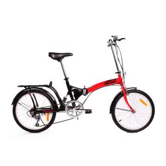 K-POP จักรยานพับ 20 นิ้ว รุ่น KP2006TSP3RD ( สีแดง )