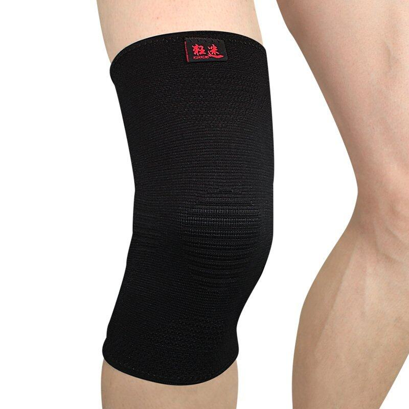 Kuangmi Authentic Summer Ultra-thin sports Knee Protectors - Black/M