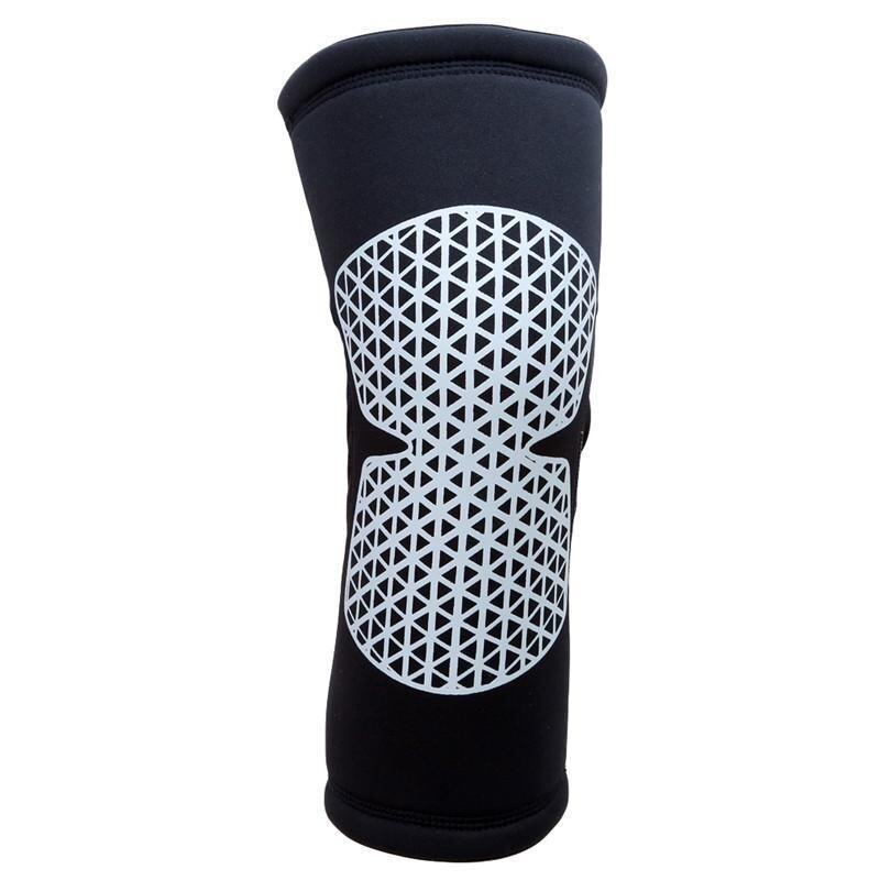 LALANG 1pc Sport Knee Pad Protector Basketball Volleyball Running Fitness Knee Support Brace L (Black)
