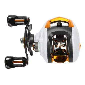 Lixada 12+1 Ball Bearings Baitcasting Reel Fishing Fly High Speed Fishing Reel with Magnetic Brake System left-handed - intl