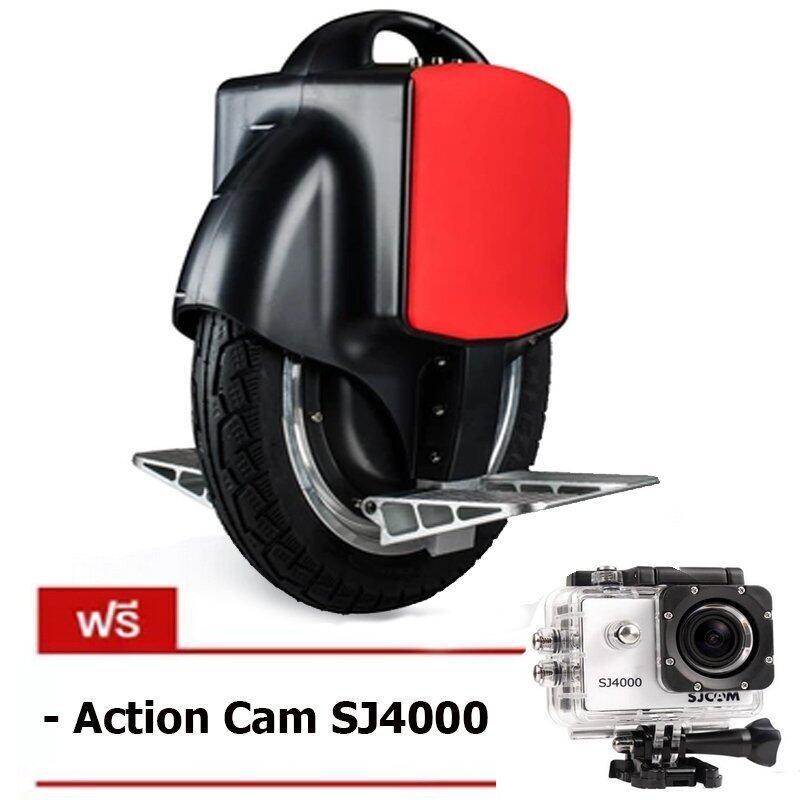Mini Segway Air Wheel สกู๊ตเตอร์ไฟฟ้า มินิเซกเวย์ ล้อเดียว Auto Balance Wheel (สีดำ) แถมฟรี กล้องSJ4000
