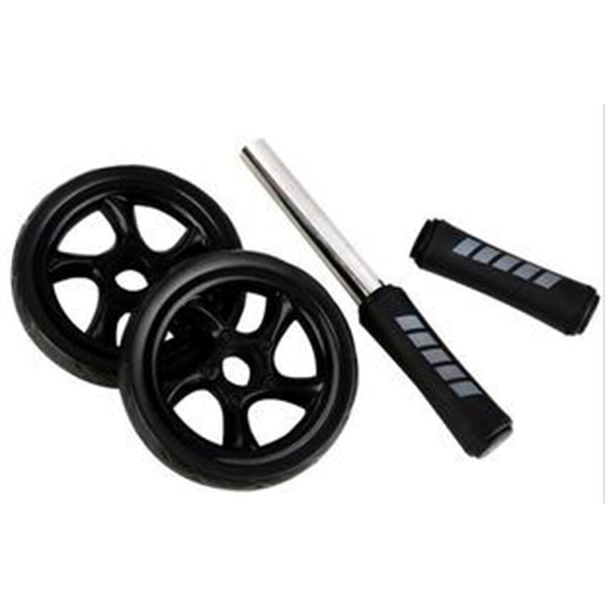 Muscle Double Wheeled Abdominal Wheel Roller Gym Fitness Equipment ...