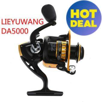 NBS DA1000-7000 9 Bearings Metel Fishing Spinning Reel 5.5 : 1 GearRatio Fishing Reel(DA5000)