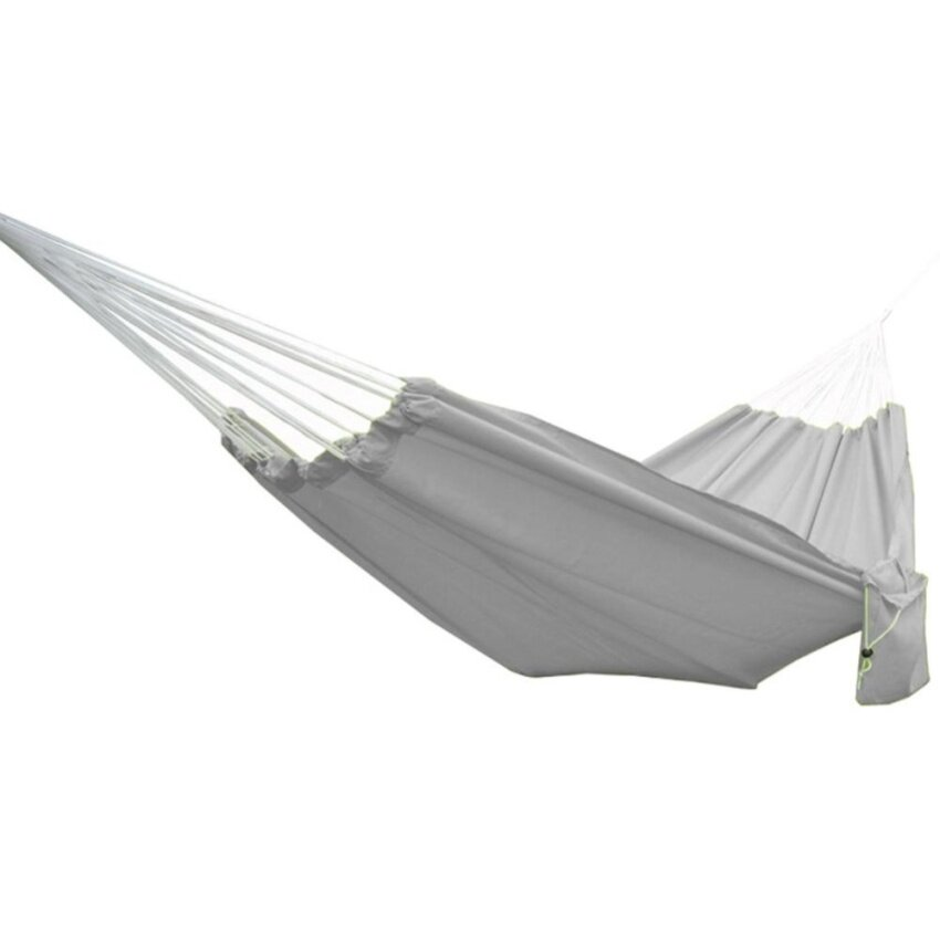 New Style Portable Parachute Cloth Hammock Hanging Bed for Travel Camping Rose Creative - intl