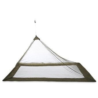 Outdoor Compact Lightweight Tent Mosquito Net Canopy (Army Green) -intl