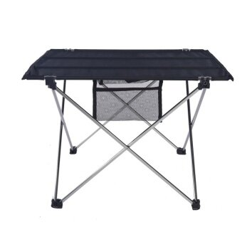 Outdoor Folding Table Ultra-light Aluminum Alloy Structure Portable Camping Table (Silver) - intl
