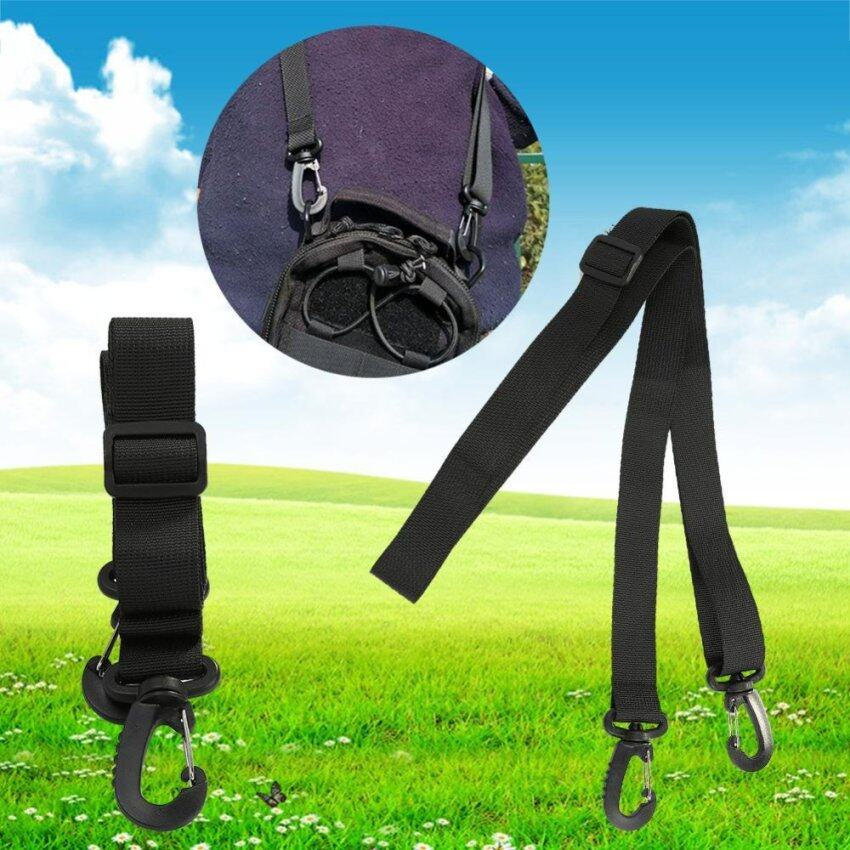 Outdoor Nylon Strap Camping Backpack Accessories (Black ladder lock) - intl