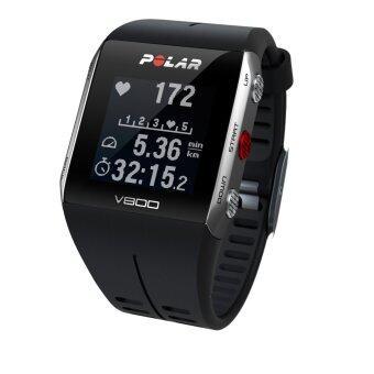 Polar นาฬิกาวัดชีพจร V800 - Black