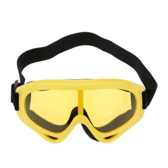Polarized UV400 Safety Eyewear Goggle for Bicycle Motorcycle Cycling Open-air Activities Yellow