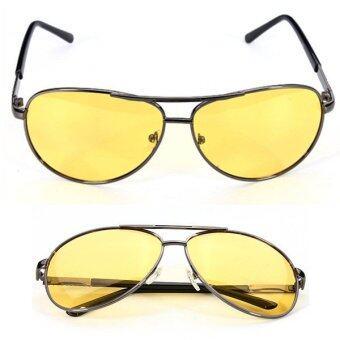 Polarized Yellow Lens Sunglasses Night Driving Vision Glasses Eyewear UV400