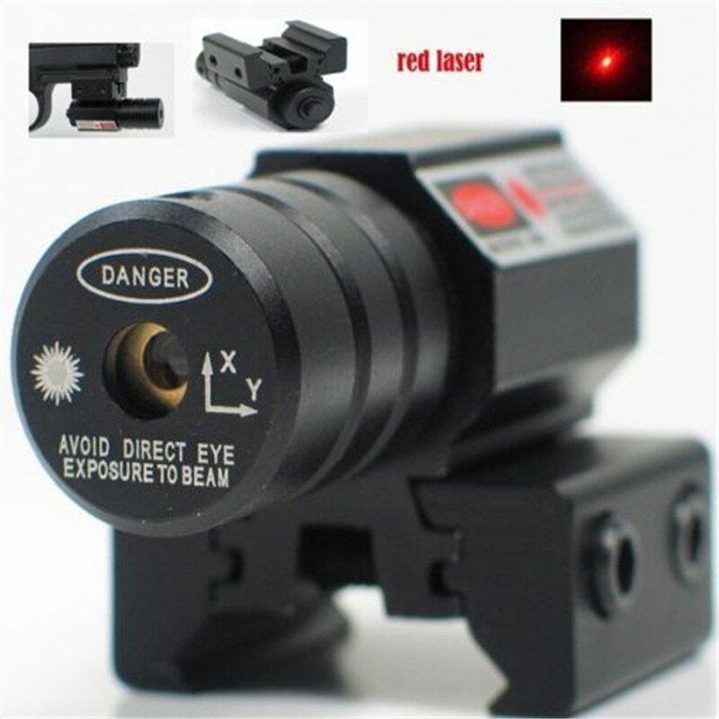 Red Dot Laser Sight For Gun Rifle Pistol With 635-655nm Adjustable 11mm/20mm Picatinny/W ...