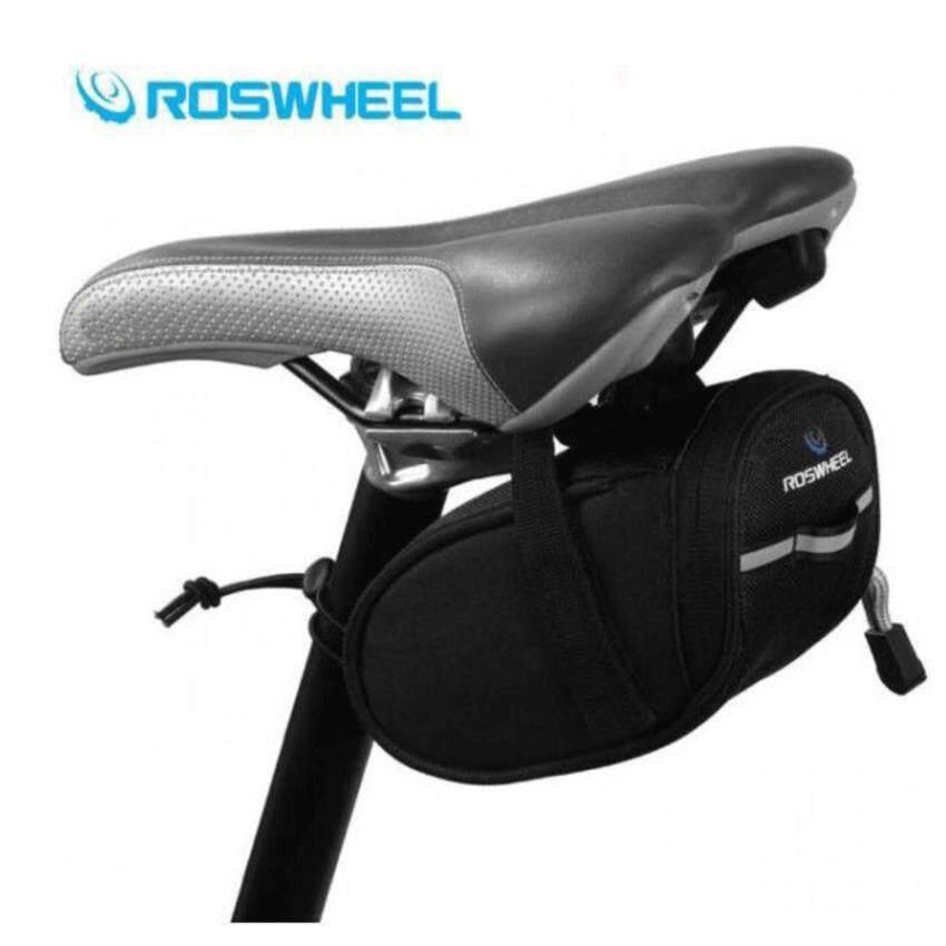 กระเป๋าใต้อานจักรยาน Roswheel (Black)