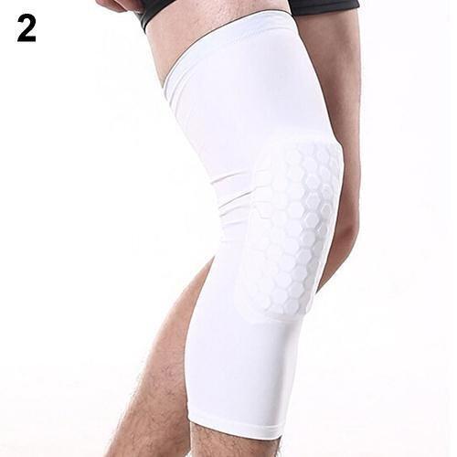 Sanwood Crashproof Knee Pads Football Basketball Leg Long Sleeve Kneepad Protector XL (W ...