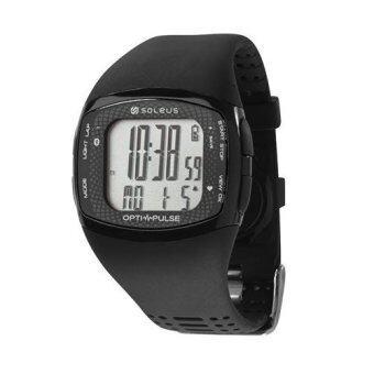 Soleus นาฬิกาวัดชีพจร Pulse Rhythm with Bluetooth (สีดำ/เทา)