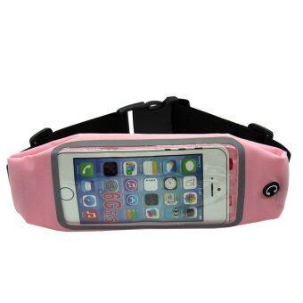 """Sport Waist Bag Screen Touching Running Belt Pouch Phone Holder for iphone6plus 5.5""""(Pink) - INTL"""