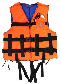 SPORTLAND เสื้อชูชีพ ดำน้ำ ว่ายน้ำผู้ใหญ่ พร้อมนกหวีด เบอร์ XL รุ่น SPL 002