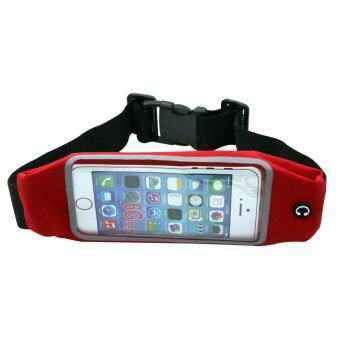 Touch Screen Sport Gym Waist Bag Case For iphone6plus/6splus(Red) - INTL