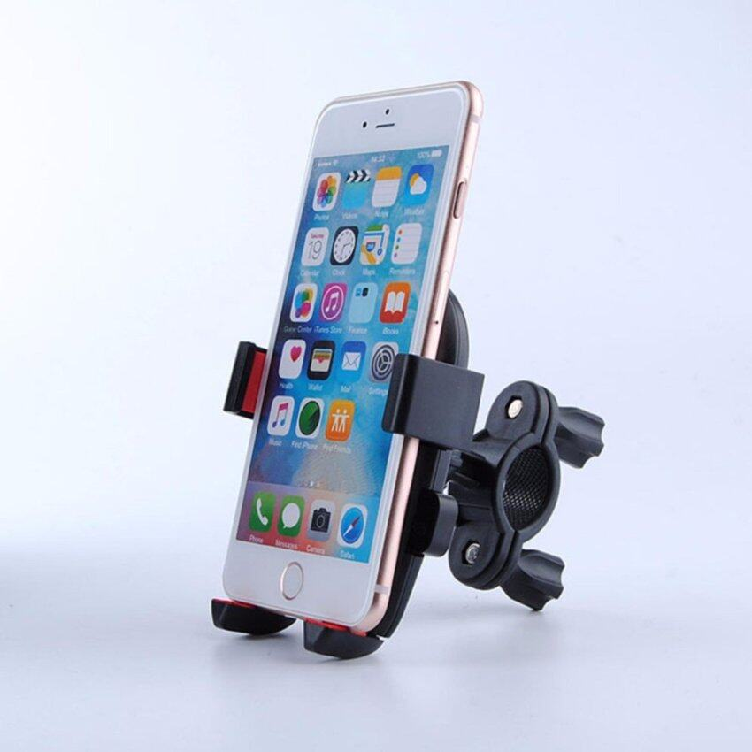 Universal Mountain Bike Phone Holder Bicycle Handlebar Clip Stand Mount Bracket for iPhone 5 5s 6 6s 7 7 Plus for Samsung Galaxy - intl
