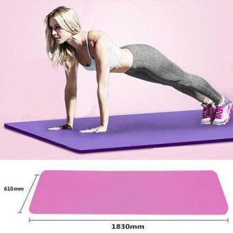รายละเอียดของสินค้า Yoga Mat Meditation Exercise Pad 10MM Thick Non-slip Gym Fitness