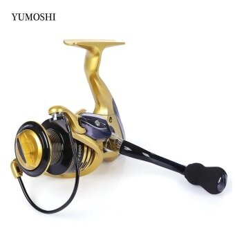 YUMOSHI 13 + 1BB Metal Spinning Reel Fishing Tackle with Foldable Handle(XF5000) - intl