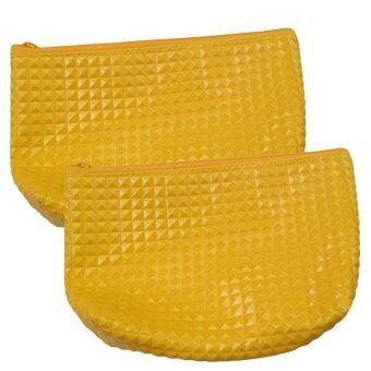 กระเป๋าสตางค์ ( สีเหลือง ) แพค 2